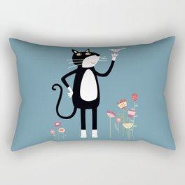 Mild Peril Rectangular Pillow