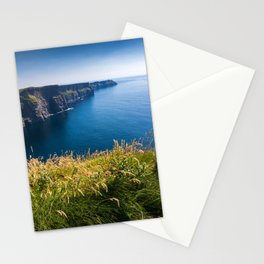 Sunny Cliffs of Moher, Ireland Stationery Cards