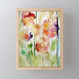 floral love Framed Mini Art Print