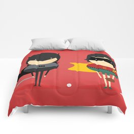 Bat-man & Robin: Heroes and super friends! Comforters