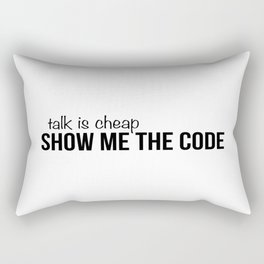 Show me the code Rectangular Pillow