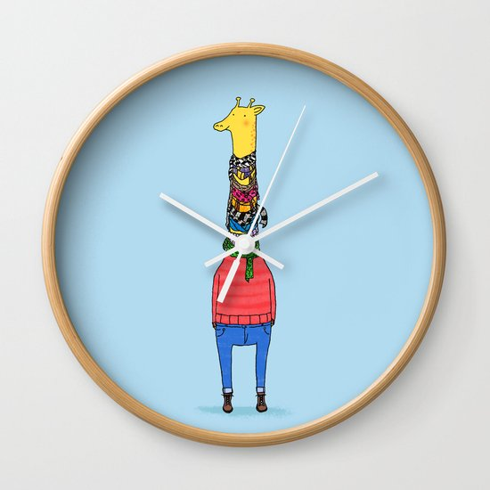 Scarf Lover Wall Clock