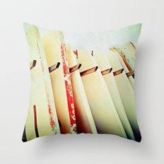 Surf Wax America Throw Pillow