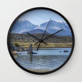 Mono Lake Tufa, No. 6 Wall Clock