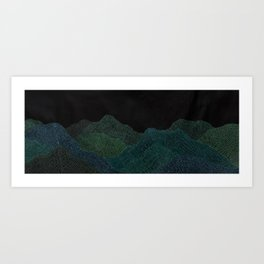 """Original Painting """"A Day at the Schwarzwald"""" Art Print"""
