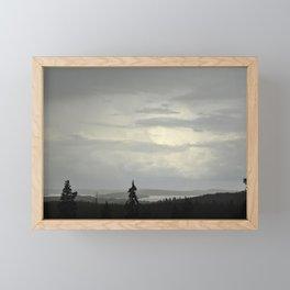 Fin-view Framed Mini Art Print
