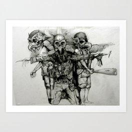 knighthawx Art Print