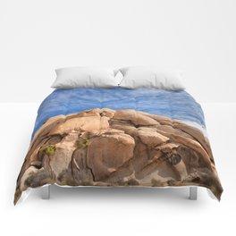 Joshua Tree Rocks Comforters