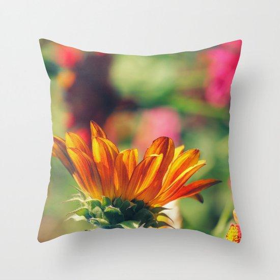 Sweet Flower of Mine Throw Pillow