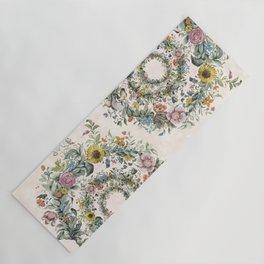Circle of life- floral Yoga Mat