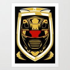Red Ranger Art Print