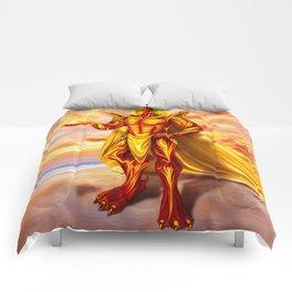 Dwain God of fire Comforters