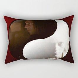 """Adam & Eve """"Balanced Lovers"""" Rectangular Pillow"""
