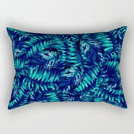 Tropical Leaf Rectangular Pillow