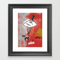 Thunderstruck No. 2 Framed Art Print