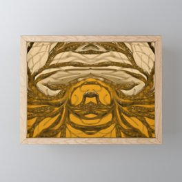 Graphic Branches Framed Mini Art Print