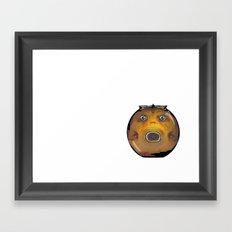 Fat Fish, Little Bowl Framed Art Print