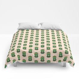 Chibi Michelangelo Ninja Turtle Comforters