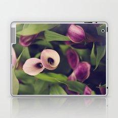 Purple Callas Laptop & iPad Skin