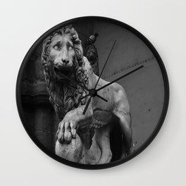 VACCA'S LION Wall Clock
