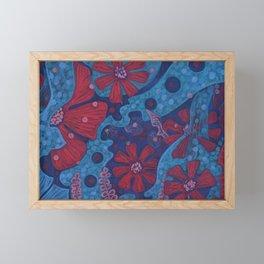 Summer Rain Framed Mini Art Print