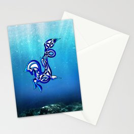Hippocampus Knot Stationery Cards