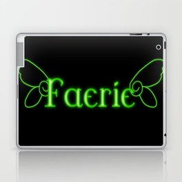 Faerie With Wings Laptop & iPad Skin