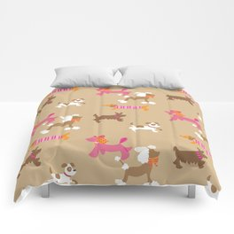Walkies, Poodles, Sausage dogs and Terriers Comforters