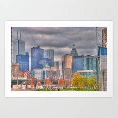 Down Town Toronto Art Print