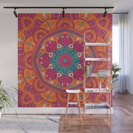 Colorful Mandala Pattern 017 Wall Mural