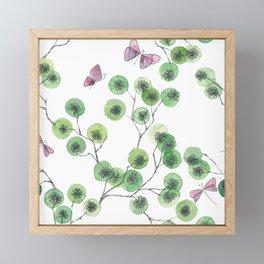 a touch of summer Framed Mini Art Print
