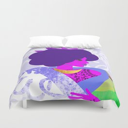 Queen's Robe Duvet Cover