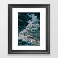 East River Bank - New York Framed Art Print
