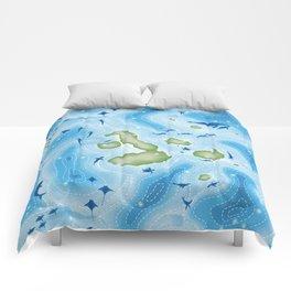 Enchanted Islands Comforters