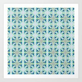 Spring Melt - Pattern Art Print