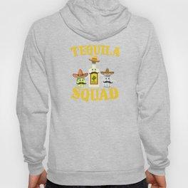 Tequila Squad Drinking Salt Lime Cinco De Mayo Hoody
