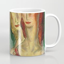 Four Sisters by Alfred Henry Maurer Coffee Mug