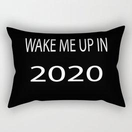 Wake Me Up in 2020 Rectangular Pillow