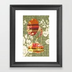 Dueling Phonographs II Framed Art Print