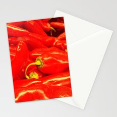 Hot Red  Stationery Cards