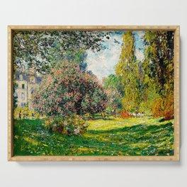 Monet - The Parc Monceau Serving Tray