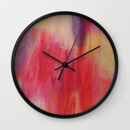 The Painted. Wall Clock