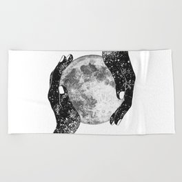 The Magic of the Universe Beach Towel