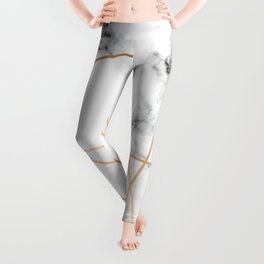 Marble Geometry 054 Leggings