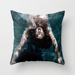 Sienna - Natural pool Throw Pillow