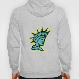 Lady Liberty or Libertas Mascot Hoody