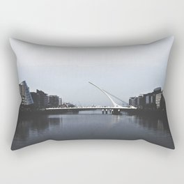 Samuel Beckett Bridge Rectangular Pillow