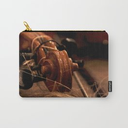 Scroll  & Horsehair Carry-All Pouch