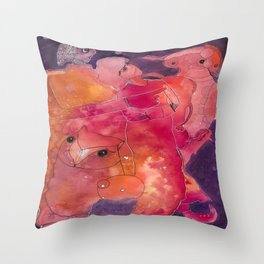 The Universe Is Always Talking To You Throw Pillow