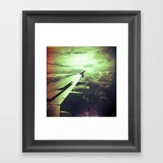 Lomographic Flight 1 Framed Art Print